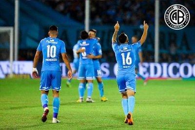 El gol de Lugo de tiro libre