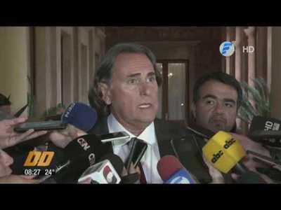 ¿De qué hablaron José Ortíz y Mario Abdo en Palacio de López?