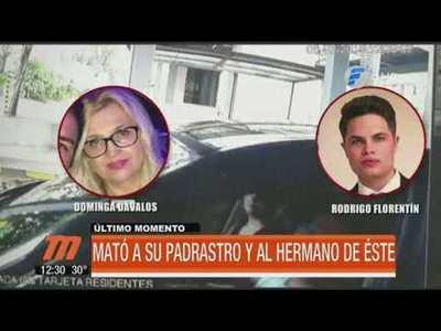 Se entregó el presunto actor del doble crimen en el Paraná Country Club