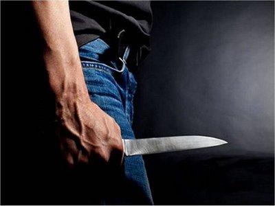 Fue denunciado por violencia familiar y desafió a policías con cuchillo