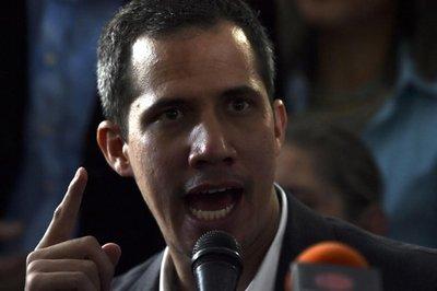 Guaidó: Muy pronto reclamará oficina en palacio presidencial venezolano