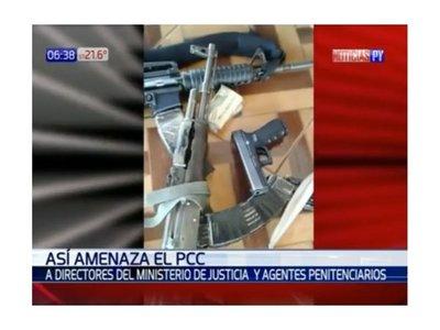 El PCC difundió un video amenazando a autoridades de cárceles paraguayas