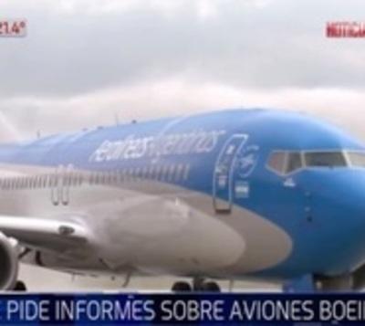 Boeing recomienda suspensión temporal de aviones 371 y 737 MAX