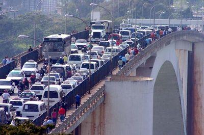 Avanza plan de puentes con el Brasil