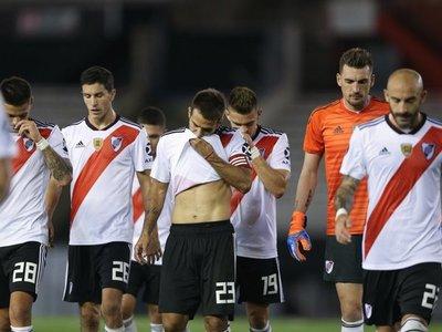 River y Palestino, sin público, goles ni victorias en la Libertadores