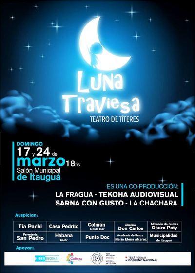 """Dos funciones de la obra internacional """"Luna Traviesa"""" en Itaguá"""