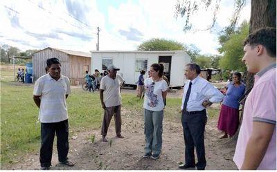 Ministro de la Corte visitó a comunidades indígenas