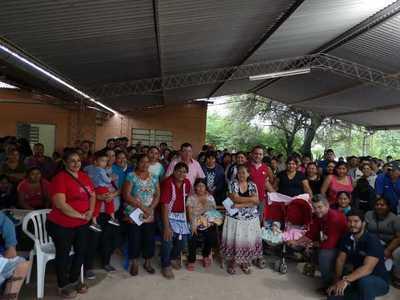 Tekoporã entregó tarjetas de débito a 1.100 familias indígenas en Boquerón