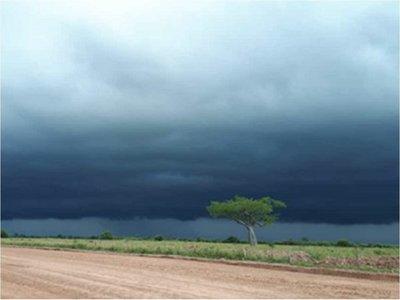Alerta meteorológica para seis departamentos del país