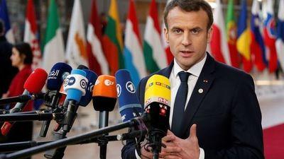 """Macron reclama un pacto mundial medioambiental que no sea """"solo de palabra"""""""