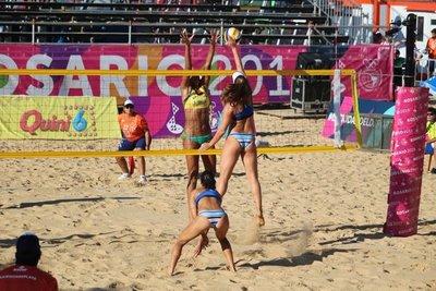 Paraguay debutó en los Juegos Suramericanos de Playa Rosario 2019