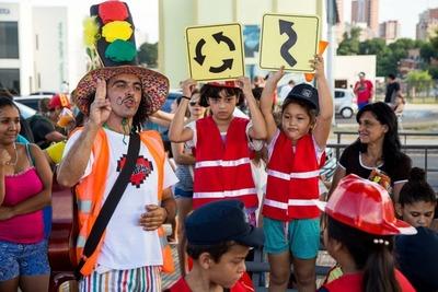"""Campaña """"Vale 1 vida"""": Niñas y niños de Atyrá aprenderán sobre seguridad vial"""