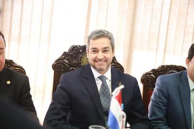 Jefe de Estado cumplió su agenda en Mburuvicha Róga