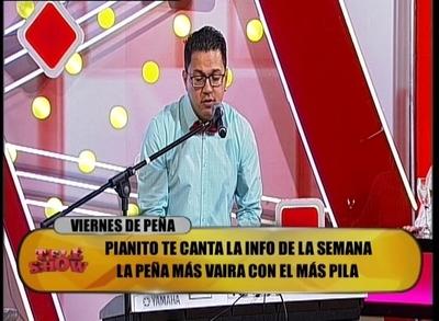 "La imperdible ""peña vaira"" de Pianito"