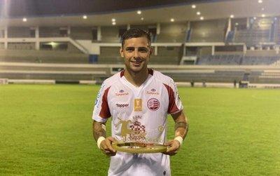 Jorge Roa: gol y mejor jugador