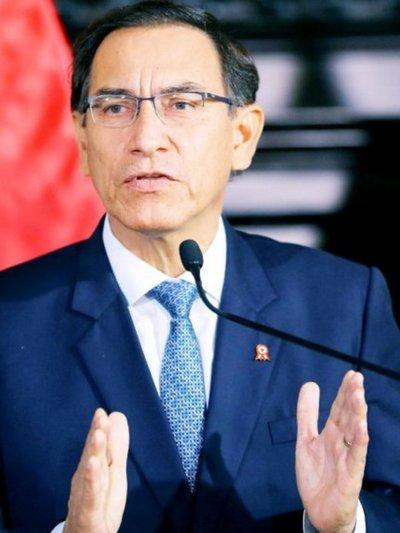 El presidente de Perú respalda acuerdos de la Fiscalía con Odebrecht