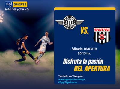 Libertad recibe a Deportivo Santaní en Tuyucuá