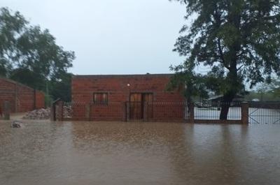 El 80% de Paso Barreto quedó bajo agua