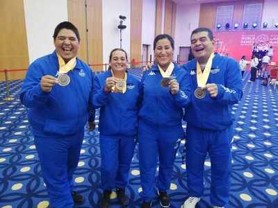 El Team Paraguay sigue sumando medallas en Abu Dhabi