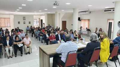Instalan mesa intersectorial en Alto Paraná para brindar capacitación laboral juvenil