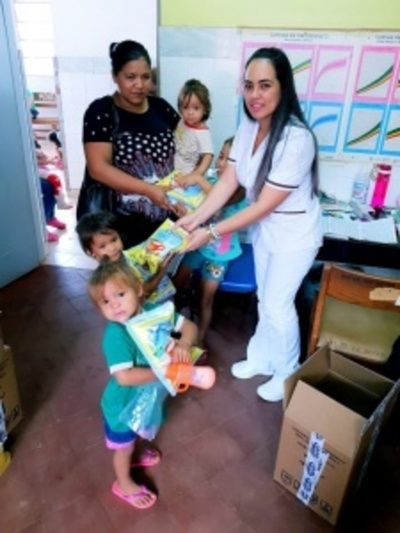 Distribuyen leche fortificada en Curuguaty