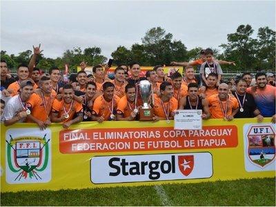 Athletic gritó campeón en Itapúa