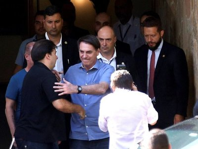 Bolsonaro viajó a  EEUU para sellar alianza conservadora con Trump