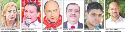 Denuncias entre precandidatos de ANR a pocos días de las internas