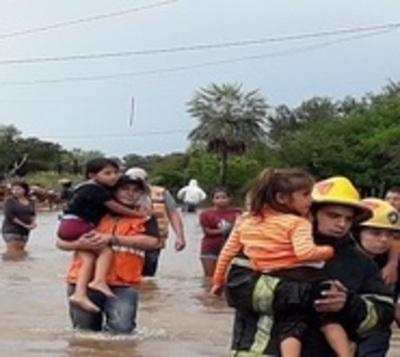 SEN con decenas de pedidos de asistencia por estragos de la lluvia