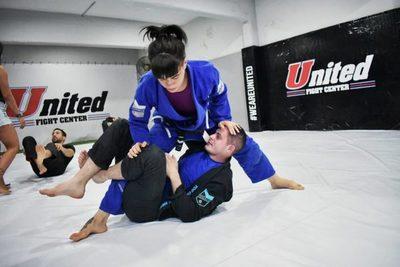 Paraguaya impresiona en deporte japonés