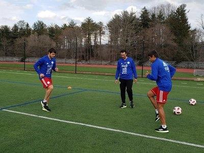 La selección paraguaya se instala en Nueva York