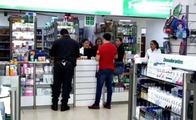 Asaltan farmacia ubicada en el Km 4