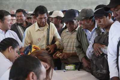 Ejecutivo reafirma compromiso de brindar solución integral a comunidades indígenas