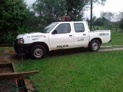 Faltan agentes y patrullera en subcomisaría de Natalio  Talavera