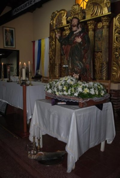 Asueto por fiesta patronal en Ayolas
