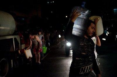 Cortes de servicios, a la par de protestas en Venezuela