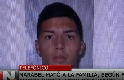 Bruno Marabel es culpable del quíntuple homicidio según fiscal