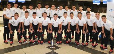 La Albirrojita partió a Lima para intervenir en el sudamericano  Sub 17