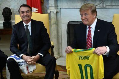"""Trump recibe en la Casa Blanca a Bolsonaro, el """"Trump del Trópico"""""""