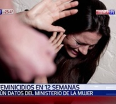 Datos alarmantes: 11 feminicidios en 12 semanas del 2019