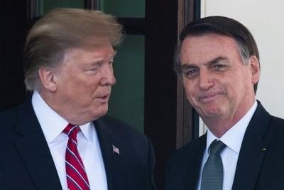Trump destaca lazo Brasil-EEUU al recibir a Bolsonaro y recuerda a Pelé