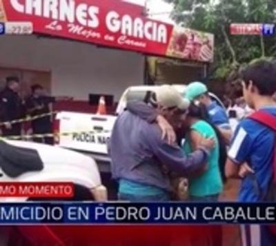 Sicarios acribillan a un hombre en Pedro Juan Caballero