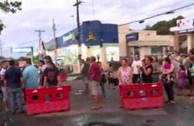 Pobladores de San Lorenzo se manifiesta ante inacción del municipio