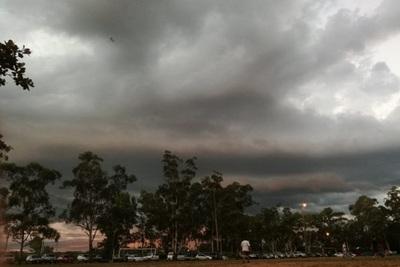 Alerta por intensas lluvias y tormentas para gran parte del país