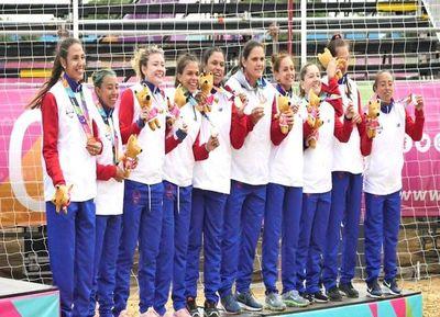 Handbol femenino gana la medalla de bronce