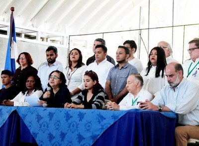 Fin de diálogo en Nicaragua