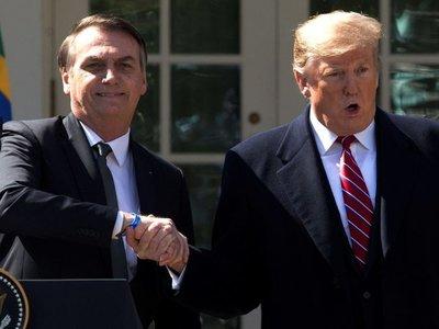 Trump se compromete a apoyar las ambiciones globales de Bolsonaro