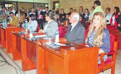 Luego de años, intendente presenta su informe de gestión ante la Junta
