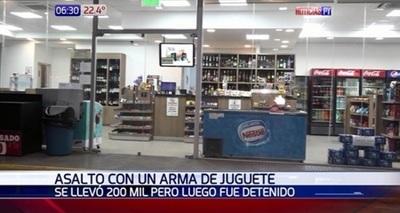Adolescente asaltó surtidor con arma de juguete y fue detenido – Prensa 5
