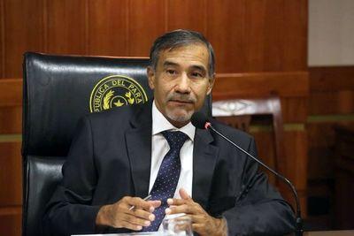 Ministro Ramírez Candia, en comisión técnica de apoyo